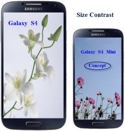size-contrast-between-s4-s4-mini