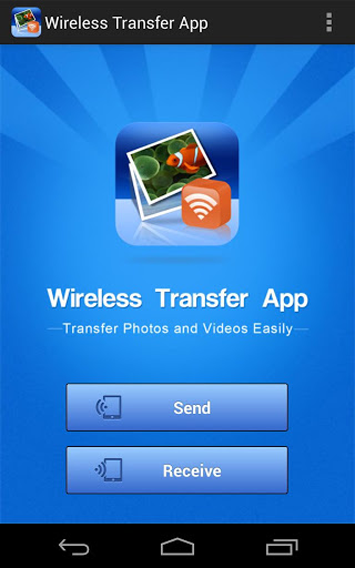 Android WiFi Transfer Screen